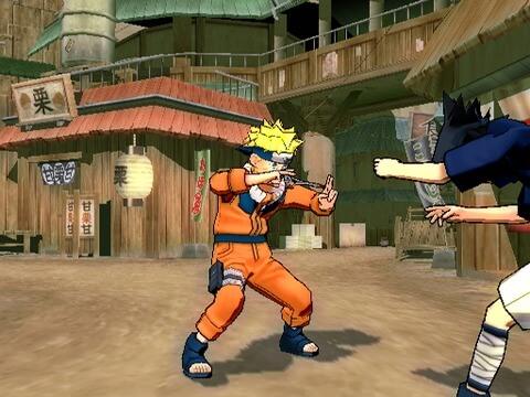 Naruto Ultimate Ninja 3 - Playstation 2