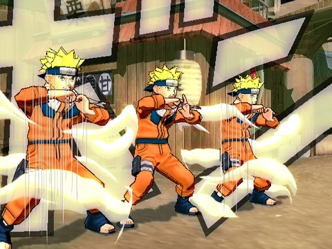 Naruto Ultimate Ninja 3 - Gameplay Playstation 2
