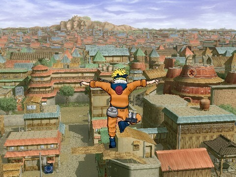 Naruto Ultimate Ninja 3 - Gameplay PS2