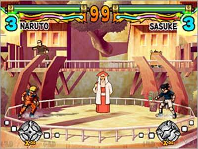 Naruto Ultimate Ninja - Gameplay PS2