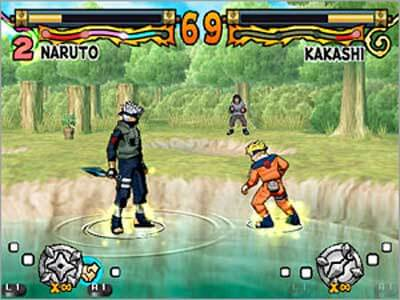 Naruto Ultimate Ninja - Gameplay PS2