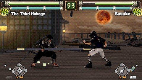 Naruto: Ultimate Ninja Heroes 2 - Gameplay PSP