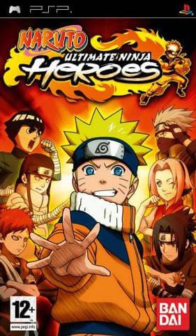 Naruto Ultimate Ninja Heroes - PSP