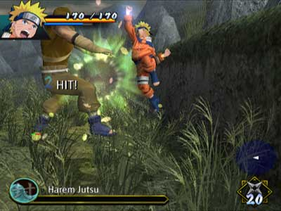 Naruto Uzumaki Chronicles - Playstation 2