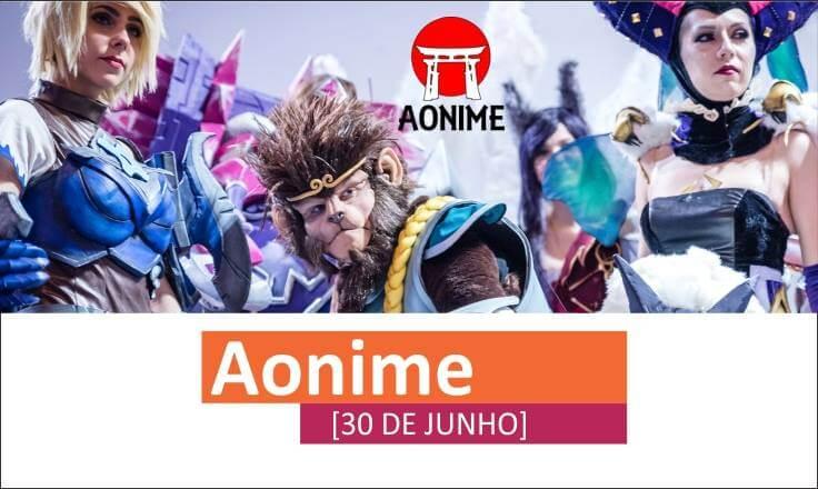 Calendário de Eventos Junho 2018 - Aonime Evento norte portugal