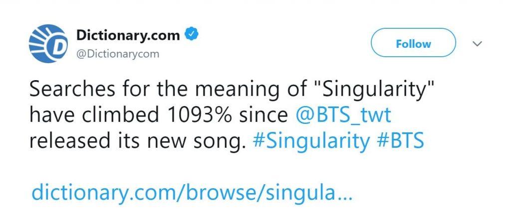 BTS - Singularity atinge 12 Milhões de Views em 24h