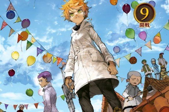 Capa Manga Yakusoku no Neverland Volume 9 Revelada