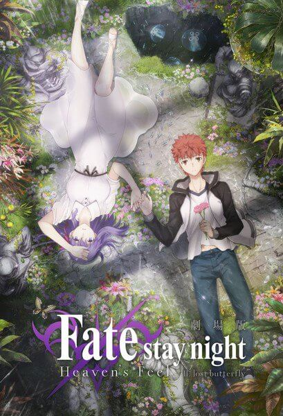Fate Stay Night Heavens Feel – Segundo Filme revela Vídeo Promocional Poster Imagem