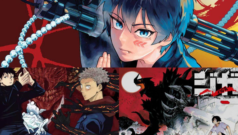 Mangas 2018 Shounen Jump Parte 1 - Raquel Cupertino