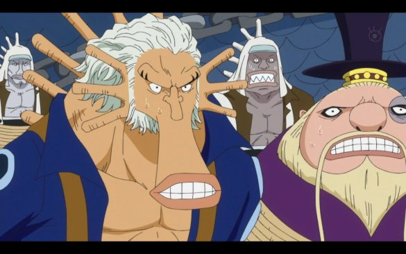 One Piece 535 - Hordys Onslaught The Retaliatory Plan Set Into Motion