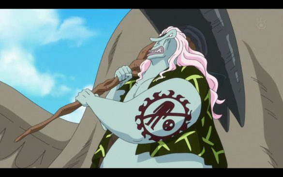 One Piece Episódio 535 - Hordy's Onslaught! The Retaliatory Plan Set Into Motion!