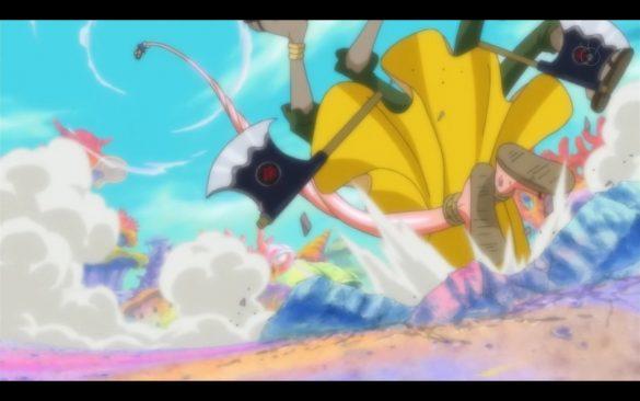 One Piece Episódio 537 - Keep Shirahoshi Safe! Decken Close Behind!