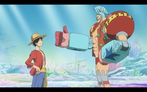One Piece Episódio 538 - Luffy & Franky