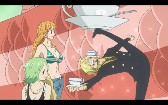 One Piece Episódio 539 - The Haunting Ties! Nami and the Fishman Pirates!