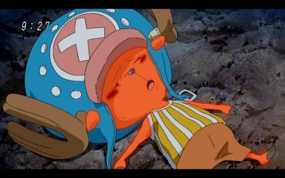 One Piece Episódio 542 - A Team is Formed! Save Chopper