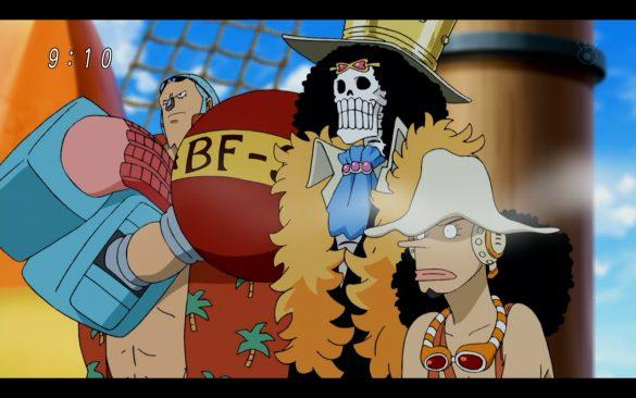 One Piece Episódio 542 - Crossover com Toriko