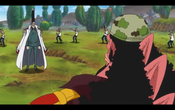 One Piece Episódio 543 - The Death of a Hero A Shocking Truth of Tiger