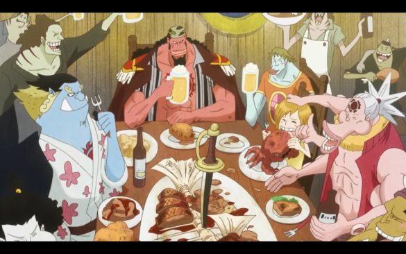 One Piece Episódio 543 - The Sun Pirates