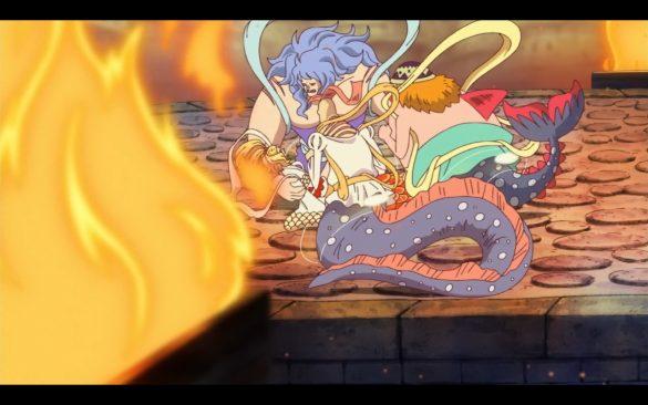 One Piece Episódio 546 - A Sudden Tragedy! A Gunshot Shuts Down the Future!
