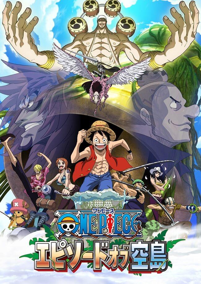 One Piece Episode of Skypeia revela Anúncio