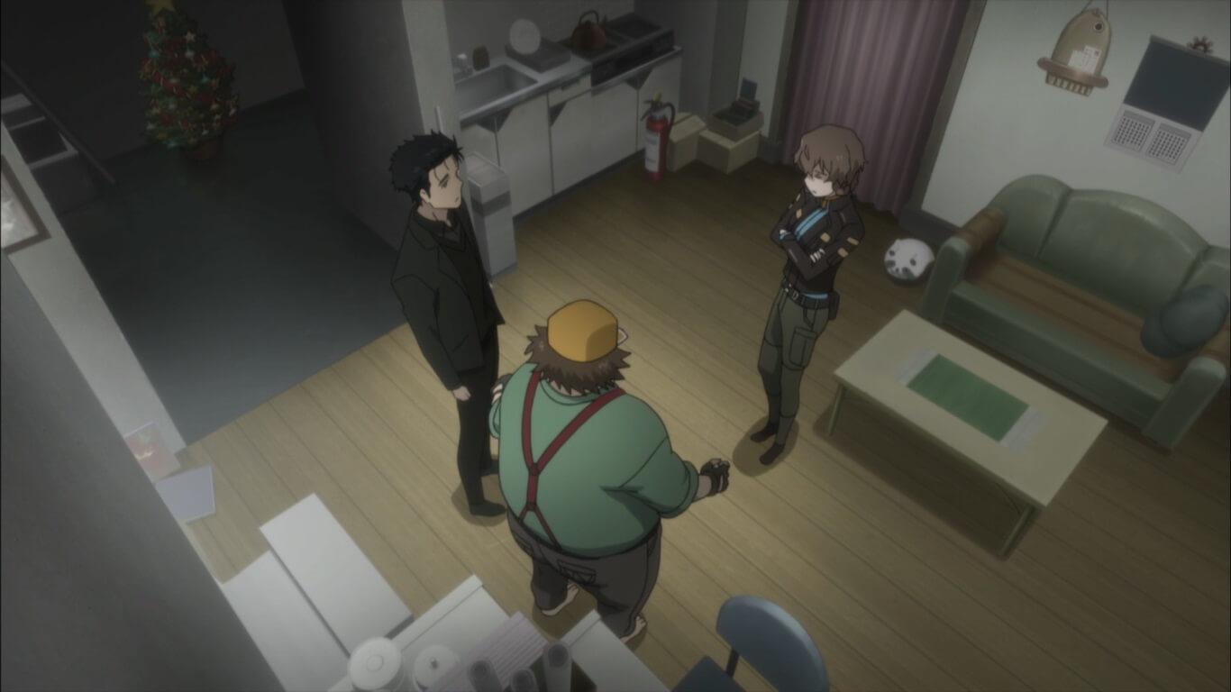 Steins;Gate 0 - opinião episódio 4 à procura de Shiina Karari