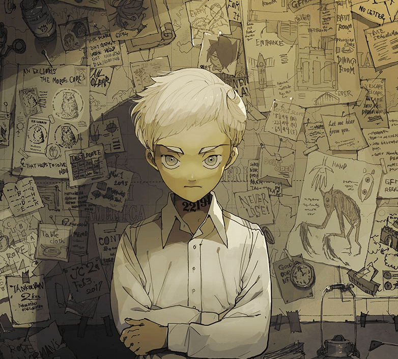Yakusoku no Neverland anuncia Light Novel sobre Norman Personagem Imagem