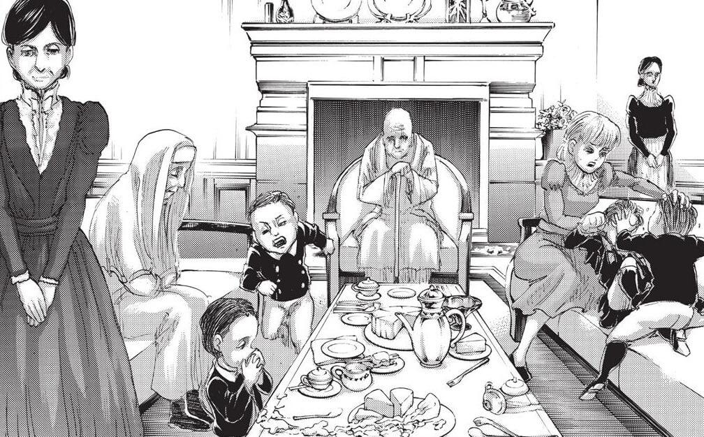 Shingeki no Kyojin Volume 24 - Família Tybur