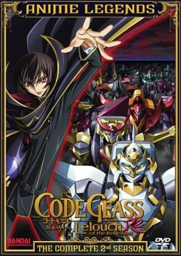 DVDs Blu-rays Anime Fevereiro 2012 - Code Geass R2 Anime Legends