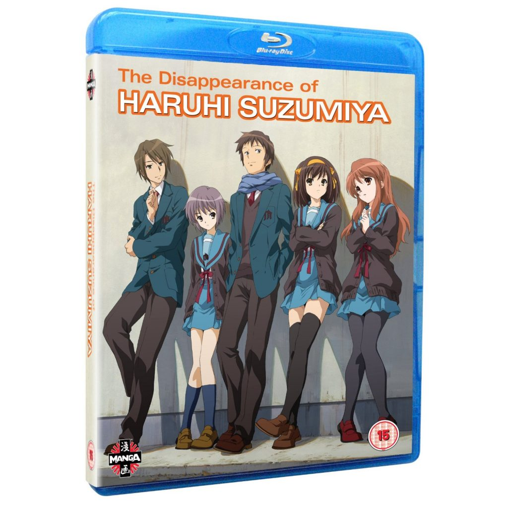 DVDs Blu-rays Anime Fevereiro 2012 - The Disappearance of Haruhi Suzumiya