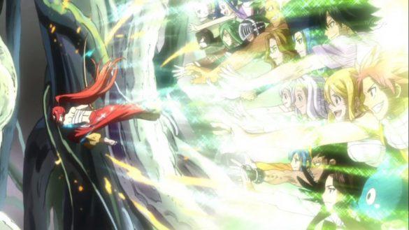 Fairy Tail Episódios 113 & 114 - The Tenrou Three & Erza vs Azuma