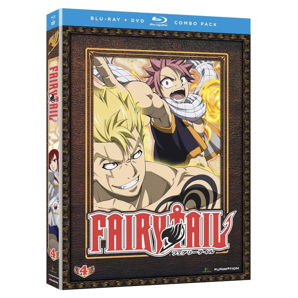 DVDs Blu-rays Anime Fevereiro 2012 - Fairy Tail Part 4 Combo