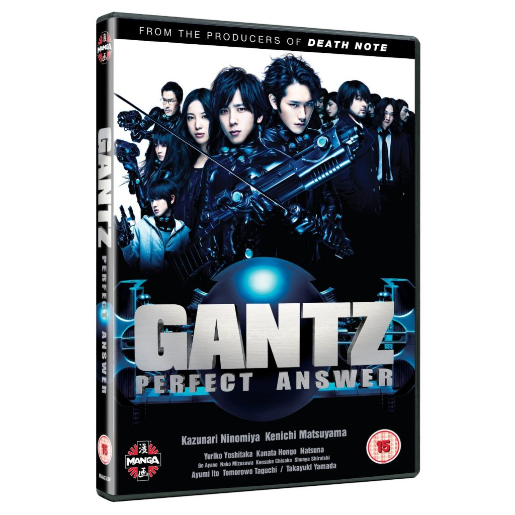DVDs Blu-rays Anime Fevereiro 2012 - Gantz Perfect Answer