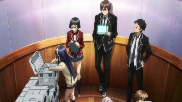 Guilty Crown 14 - Disturbance: Election