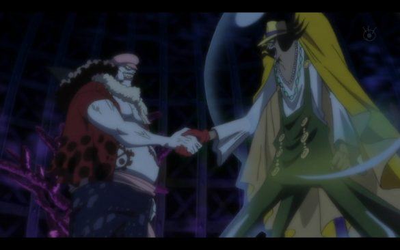 One Piece 532 - A Coward and a Crybaby The Princess in the Hard Shell Tower