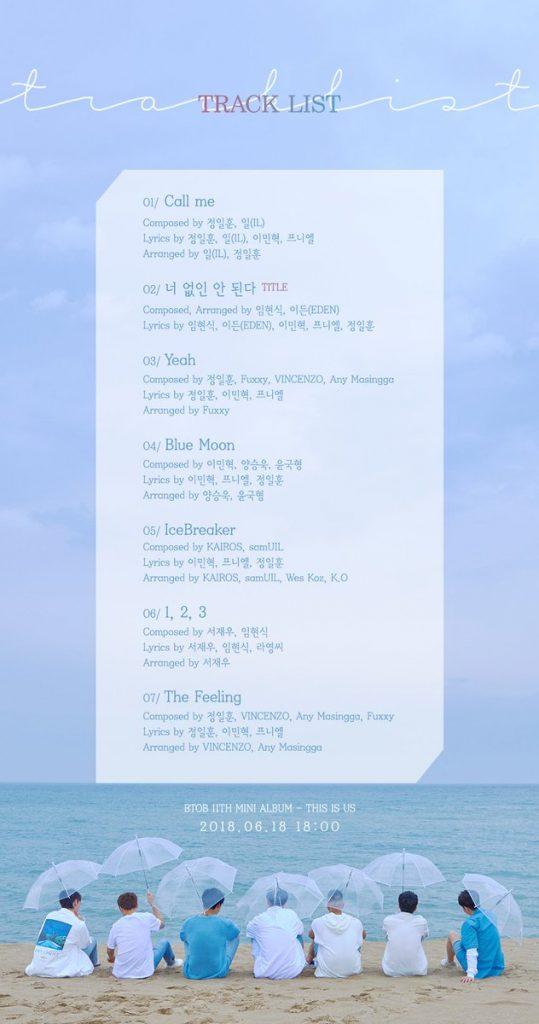 BTOB revelam Imagens e MVs teaser para This Is Us