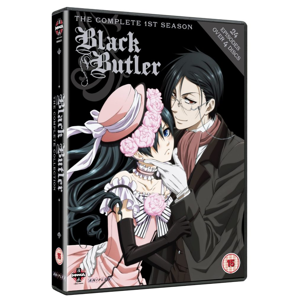 Black Butler Complete Series Box Set - DVDs Blu-rays Anime Março 2012