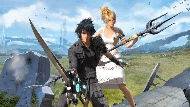 Top 13 jogos da série Final Fantasy - Final Fantasy XV Noctis Luna