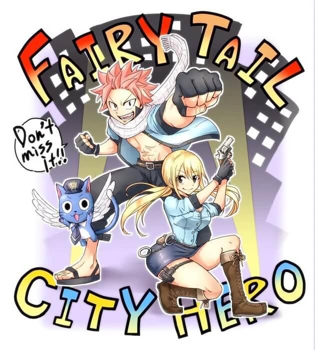 Hiro Mashima revela Manga Spinoff Fairy Tail City Hero