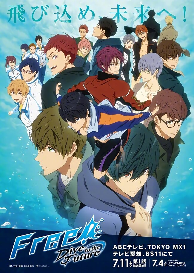 Free! Dive to the Future revela Vídeo Promocional