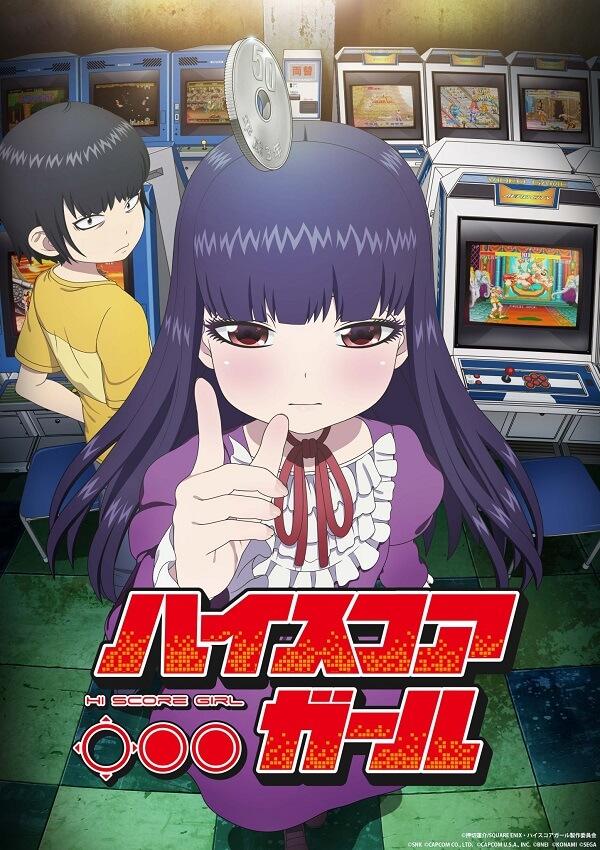 Hi Score Girl - Manga vai Terminar no Volume 10