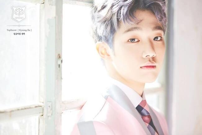 Kyungha anuncia abandono dos Top Secret