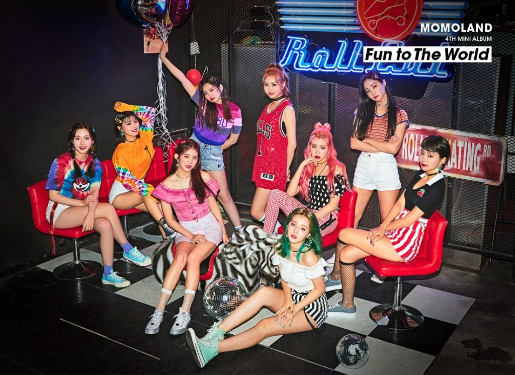 MOMOLAND revelam tracklist para Fun to the World