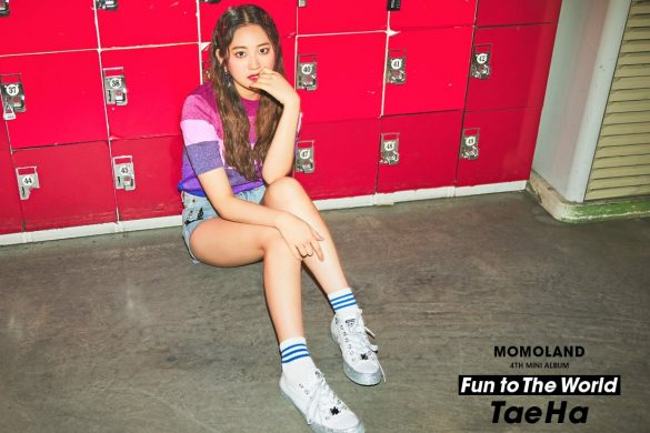 MOMOLAND - Imagens Teasers para 'Fun To The World'