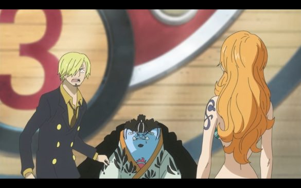One Piece Episódio 547 - Back to the Present! Hordy Makes a Move!