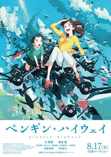Penguin Highway - Filme Anime revela Segundo Vídeo Promocional