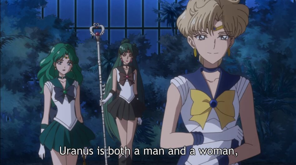 Sailor Moon - A ironia da Censura em Portugal - Identidade sexual de Haruka