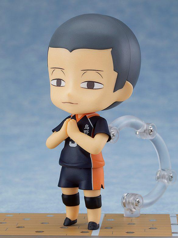 Tanaka Ryuunosuke Nendoroid anunciado pela Good Smile Company Pose de Budha