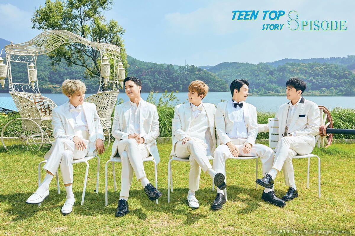 Teen Top estão de Regresso com o MV Lover