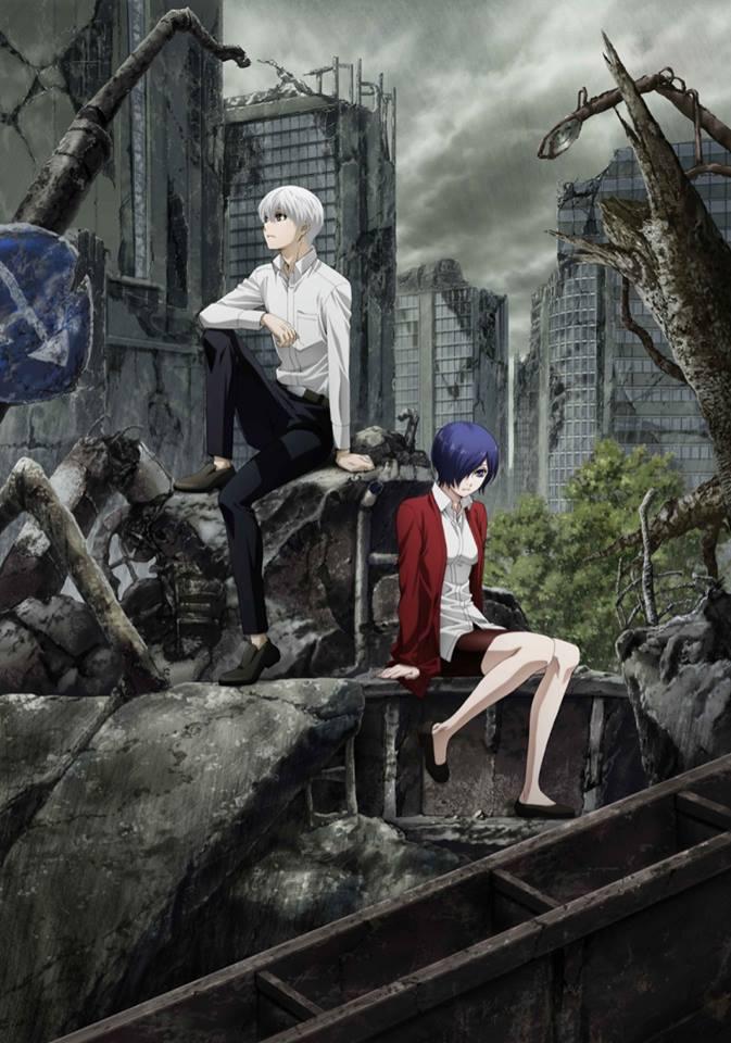 Tokyo Ghoul:re - Segunda Temporada antevista em Anúncio | Tokyo Ghoul:re - Estreia e Novo Poster Revelados