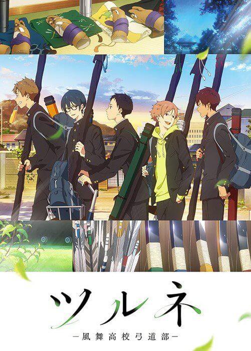 Tsurune Archery revela Teaser e Data de Estreia - Kyoto Animation | Tsurune - Anime da KyoAni revela Segundo Vídeo Promo